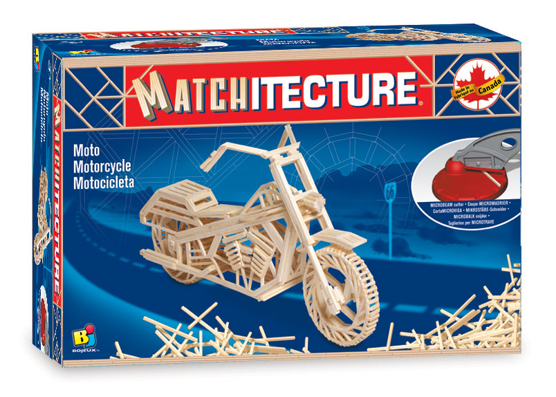 Matchitecture Matchstick Construction Kit Taj Mahal Toys & Games